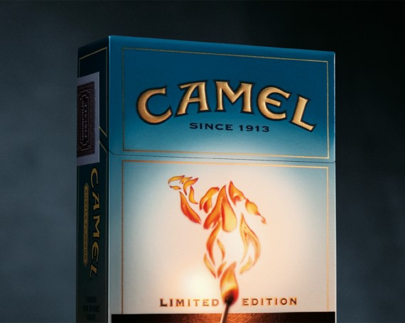 """Camel """"Olympic flame pack"""""""